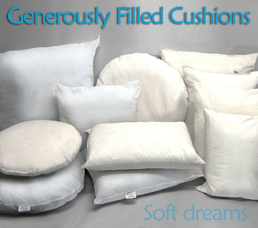 cushion inners inserts pads scatters fillers hollowfibre. Black Bedroom Furniture Sets. Home Design Ideas