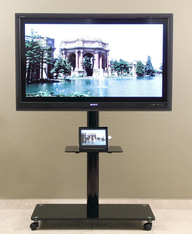 70 Best Online Furniture Stores: LCD TV Stand Universal Mount /Casters For 35