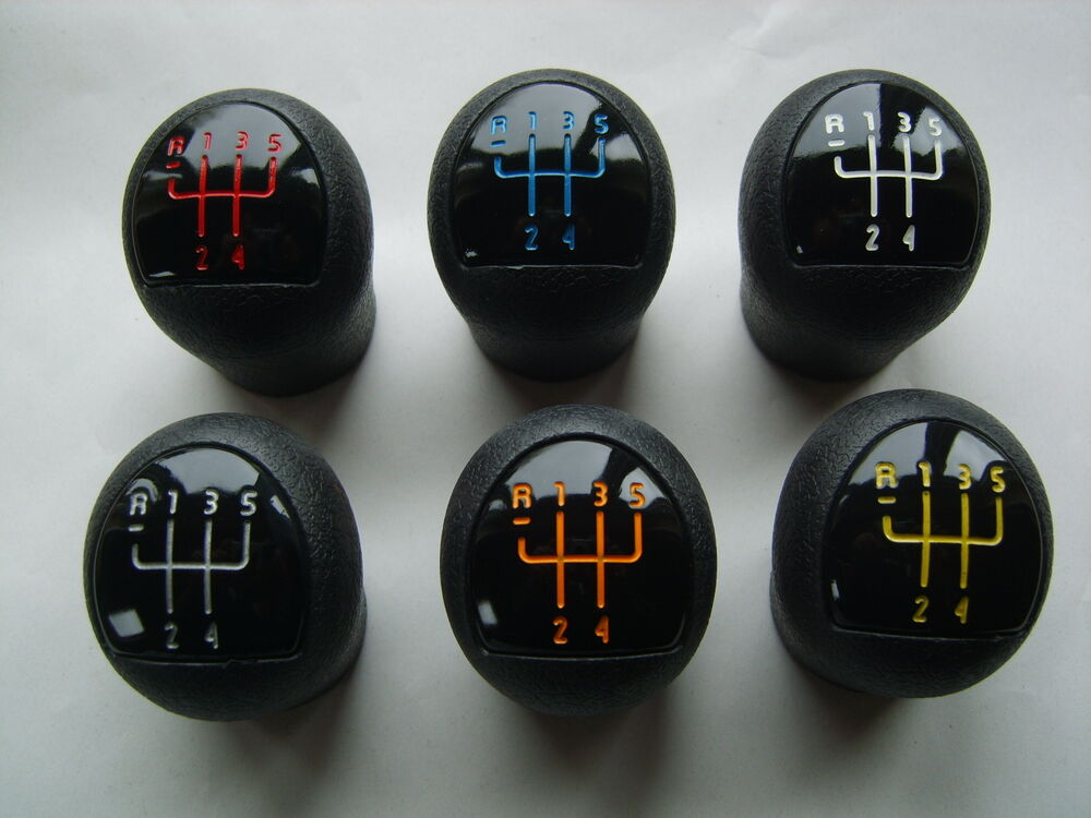renault clio mk2 172 182 gear knob megane green silver white red orange blue ebay. Black Bedroom Furniture Sets. Home Design Ideas