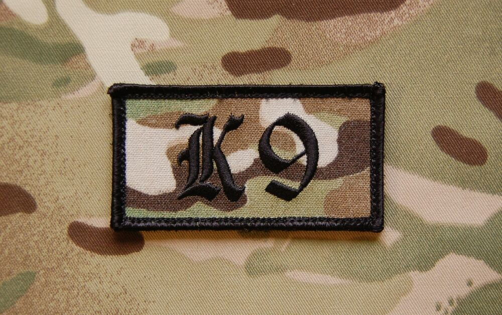 Army Dog Handler Dog Handler Patch Multicam