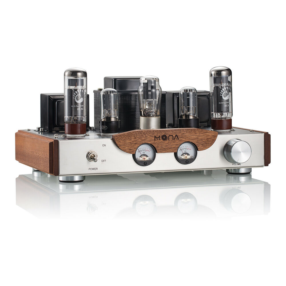 nobsound el34 vacuum tube amplifier class a single ended power stereo amp 8w 2 ebay. Black Bedroom Furniture Sets. Home Design Ideas