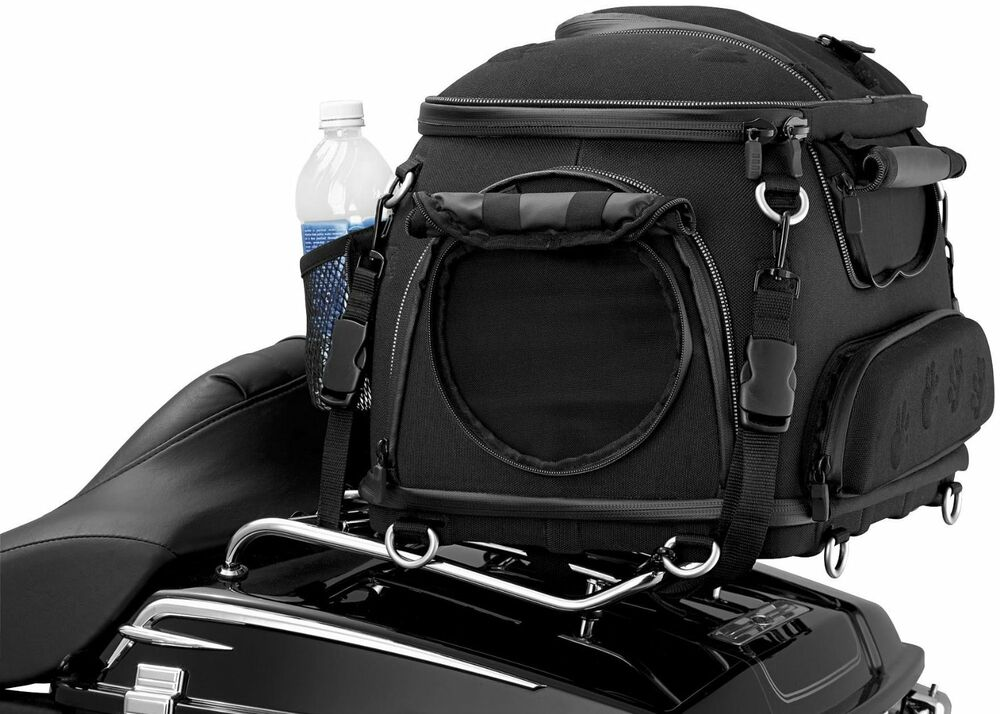 Motorcycle Pet Palace Dog Cat Travel Taxi Carrier Black Ebay