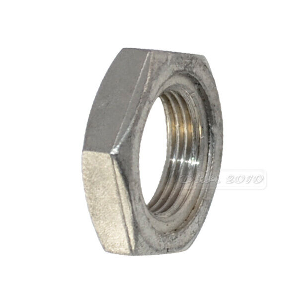 Quot lock nut stainless steel o ring groove pipe