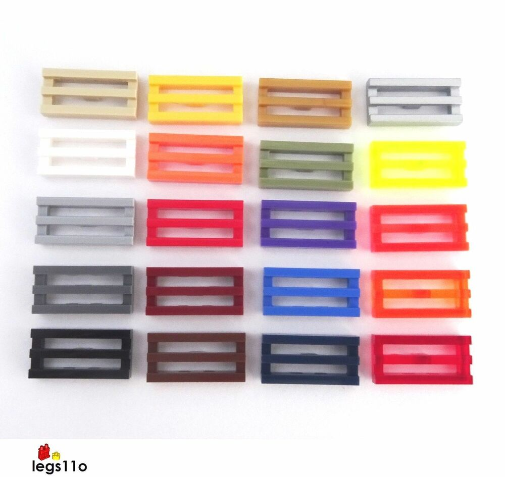 Lego Radiator lego radiator grille tile 1x2 new 2412 choose colour and quantity