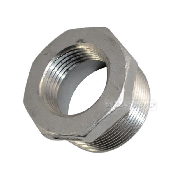 Quot male female threaded reducer bushing pipe