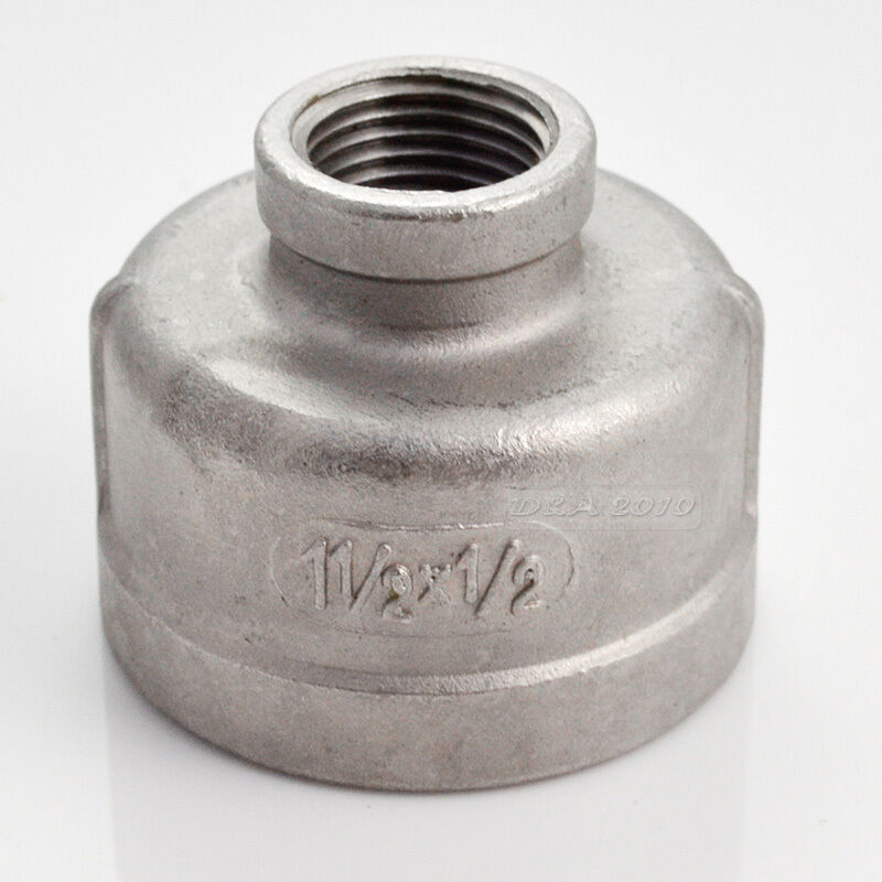 Quot x female nipple threaded reducer pipe fitting