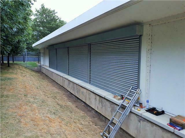Electric Roller Shutter Door 3000mm Wide X 2400mm High