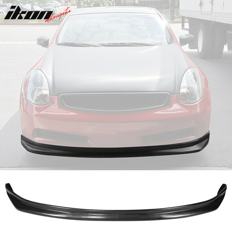 03 06 fit for infiniti g35 coupe ns style urethane front. Black Bedroom Furniture Sets. Home Design Ideas