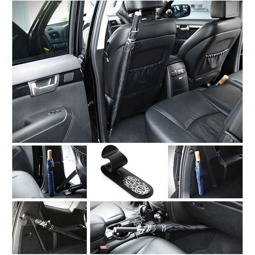 multi purpose car interior umbrella holder hanger diy easy quick installation ebay. Black Bedroom Furniture Sets. Home Design Ideas