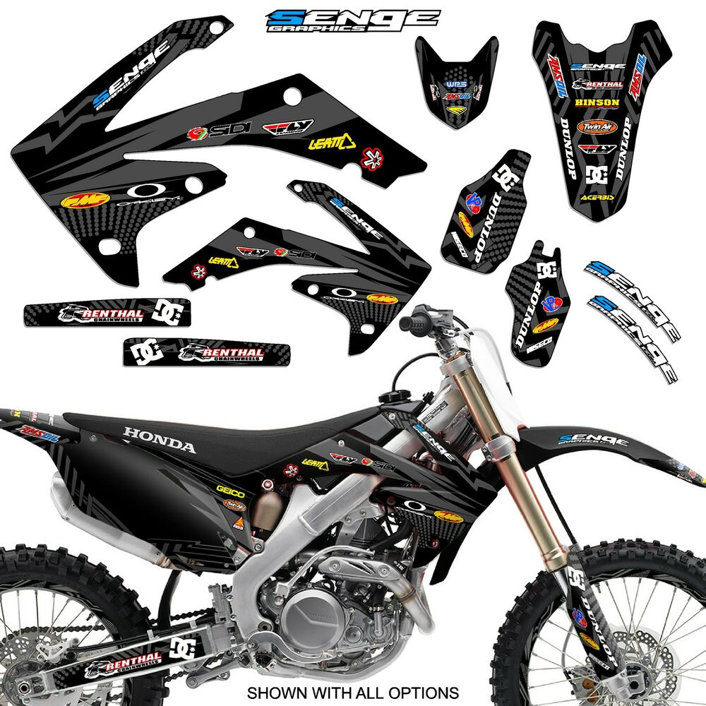 2006 2007 crf 250r graphics kit crf250r 250 r deco sticker decals 4 stroke ebay