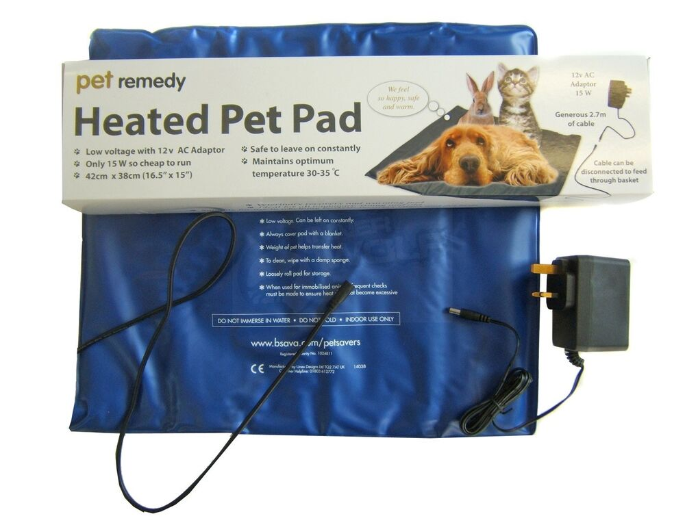 12v Safe Heated Pet Pad Whelping Box Warming Heat Mat
