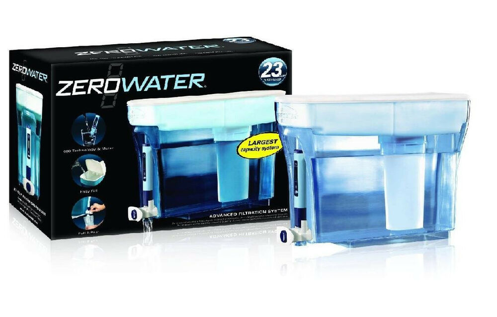 Zerowater 23 Cup Water Filter Filtration Dispenser System