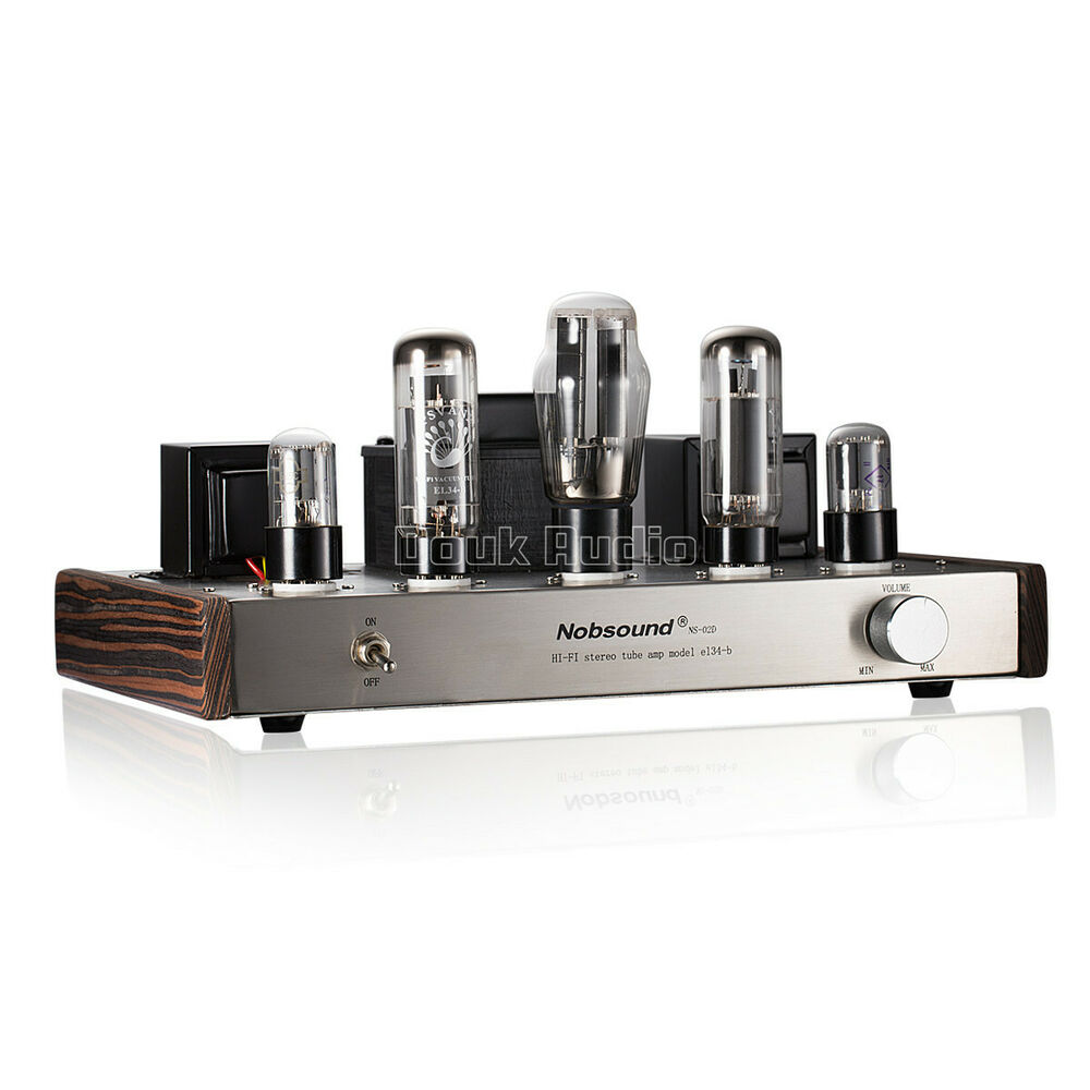 Nobsound EL34 Single-ended Class A Stereo Tube Amplifier ...