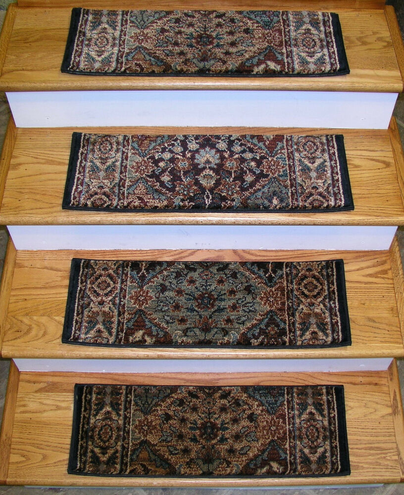 152938 Rug Depot Premium Carpet Stair Treads Set Of 13