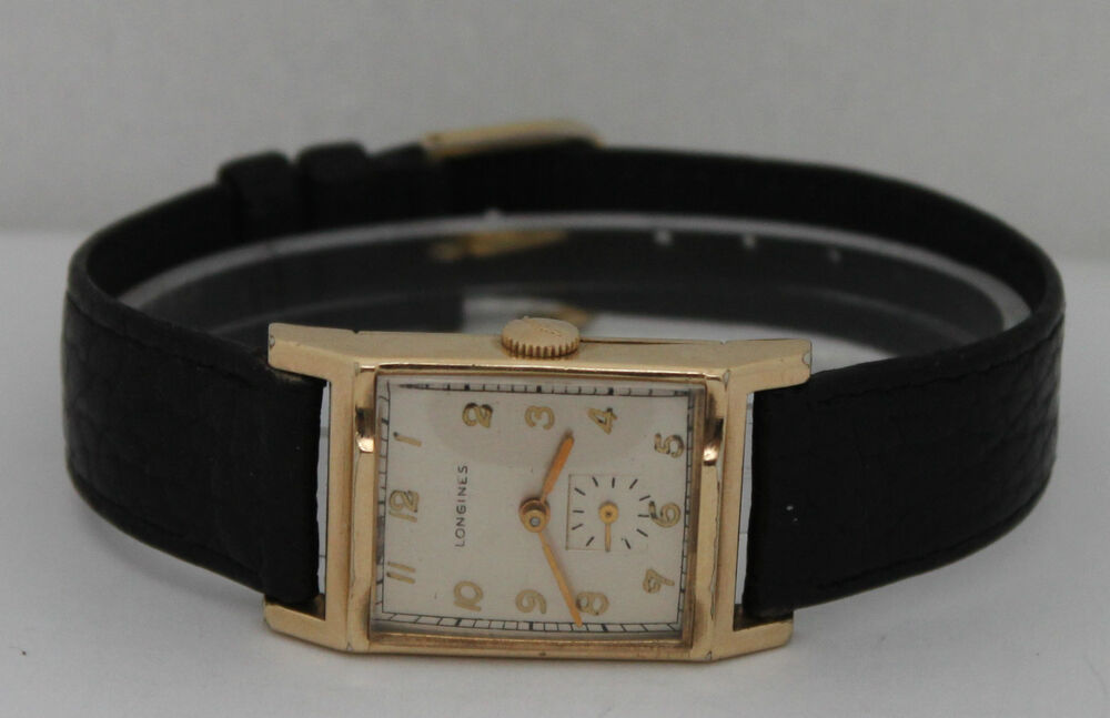 vintage longines winding gold filled silver