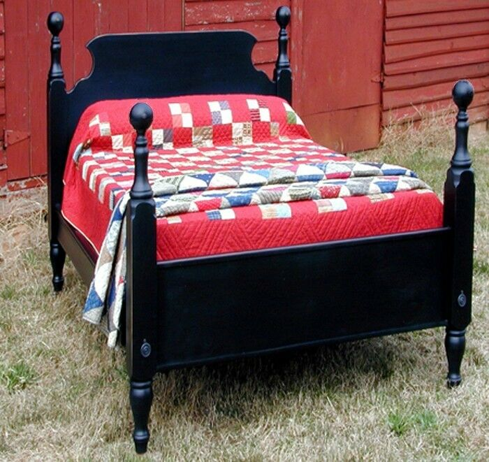 French country pine tavern bed twin size usa hand made reproduction ebay for French reproduction bedroom furniture