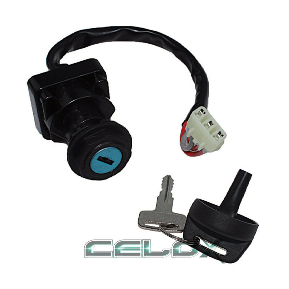 ignition switch key for arctic cat 250 2x4 2000 2001 2002. Black Bedroom Furniture Sets. Home Design Ideas