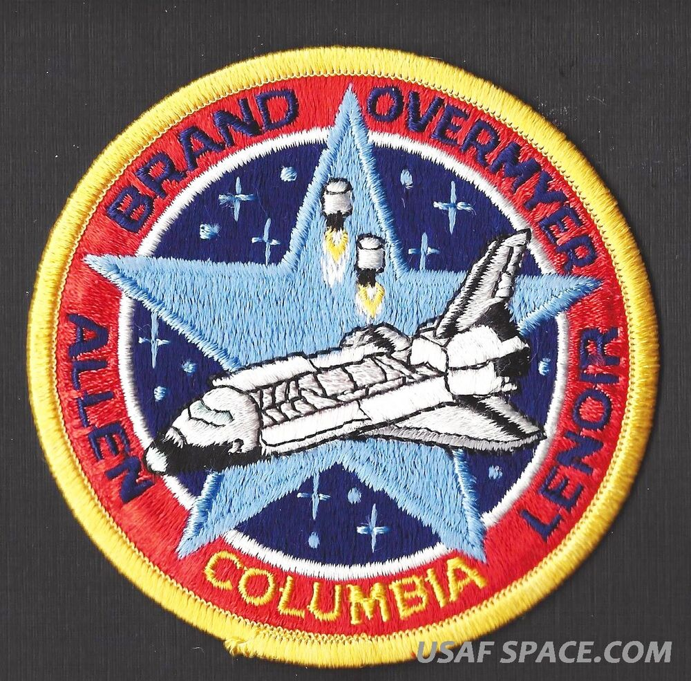 space shuttle columbia mission patch - photo #24