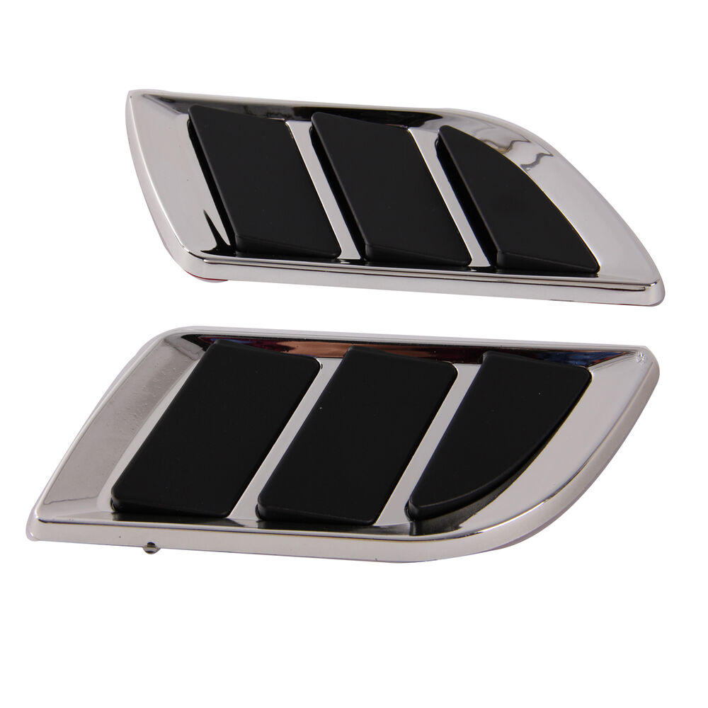 Car Air Ducts : Car side vent air flow fender hook mesh duct hole grille