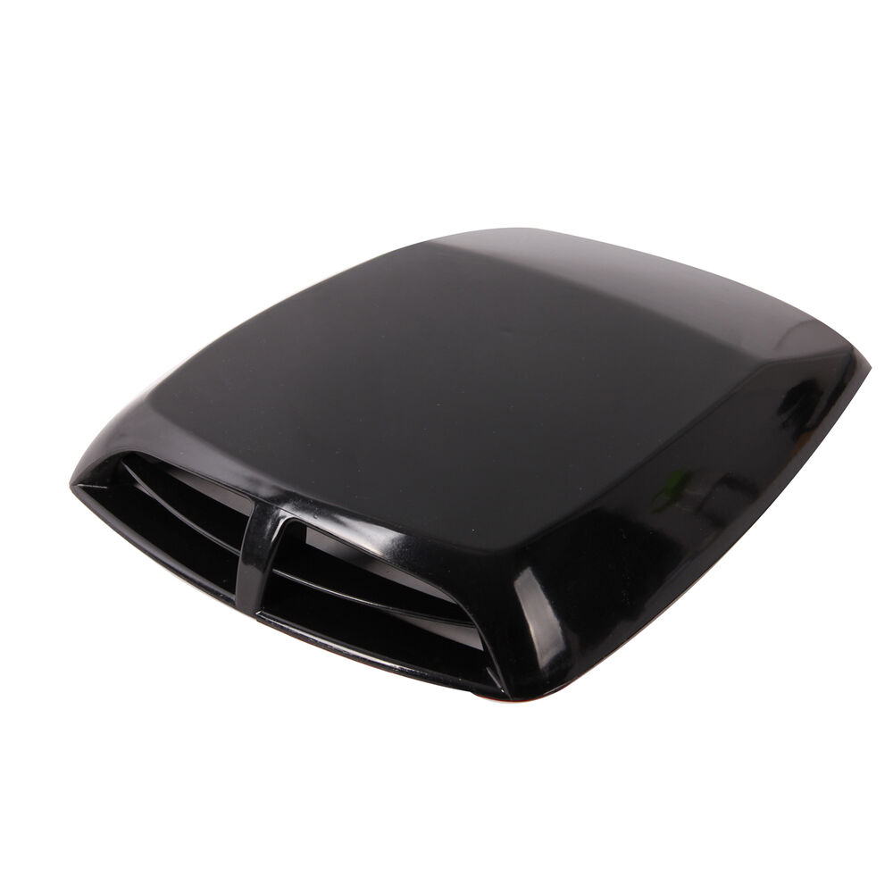 Air Scoops For Cars : Car air flow intake vent bonnet turbo hood scoop cover