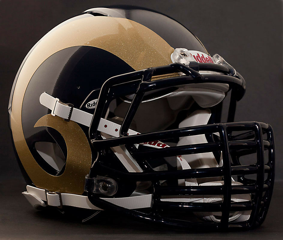 Custom St Louis Rams Nfl Riddell Revolution Speed