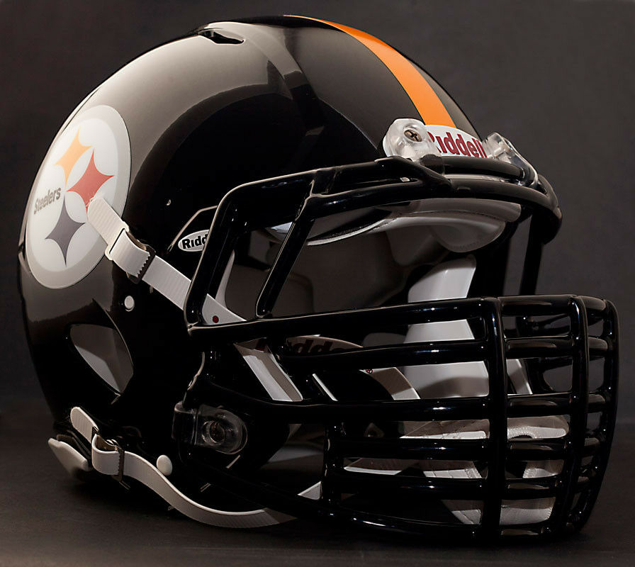Pittsburgh Steelers Helmet Front