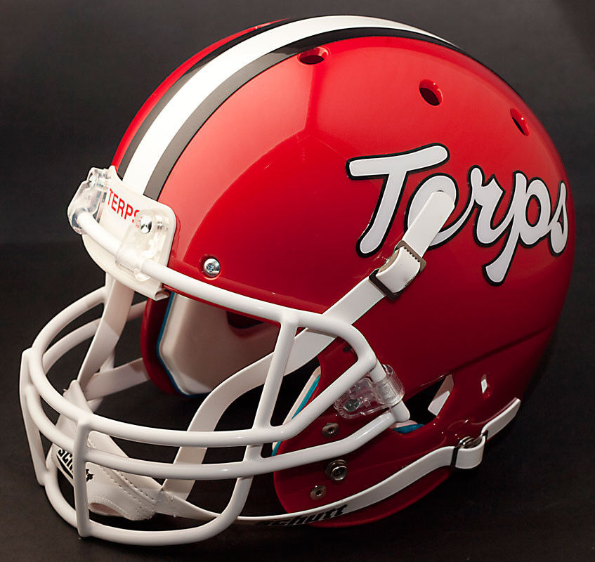 Maryland Terrapins 1991 Schutt Air Xp Authentic Gameday