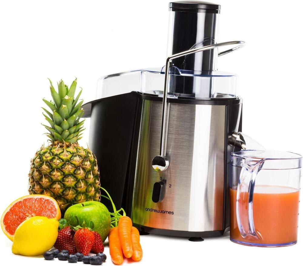 andrew james whole fruit power juicer vegetable citrus juice extractor ebay. Black Bedroom Furniture Sets. Home Design Ideas