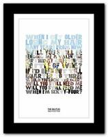 THE BEATLES - When I'm Sixty Four  ❤ song lyrics typography poster art prints