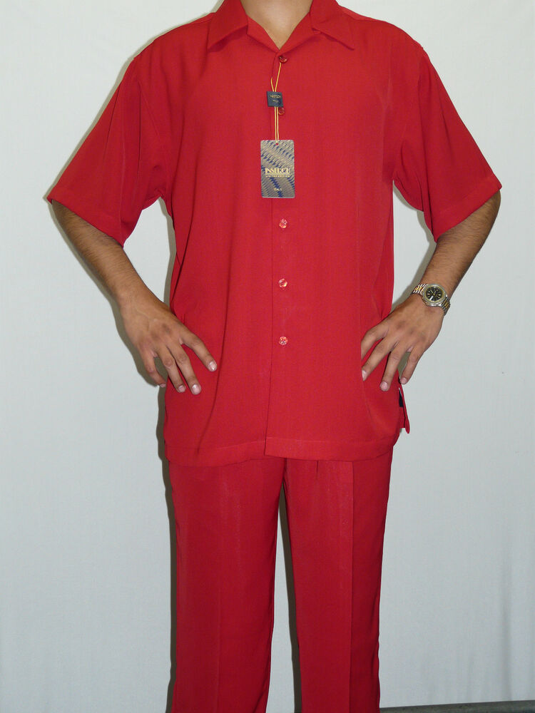 Mens Inserch Walking Leisure Suit Two Piece Matching