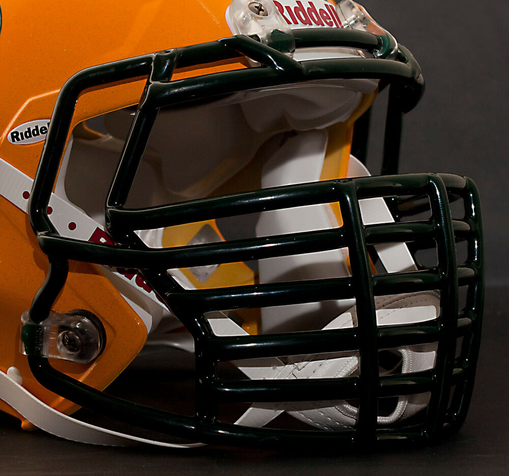 Green Bay Packers Riddell Speed Big Grill S2bdc Ht Lw