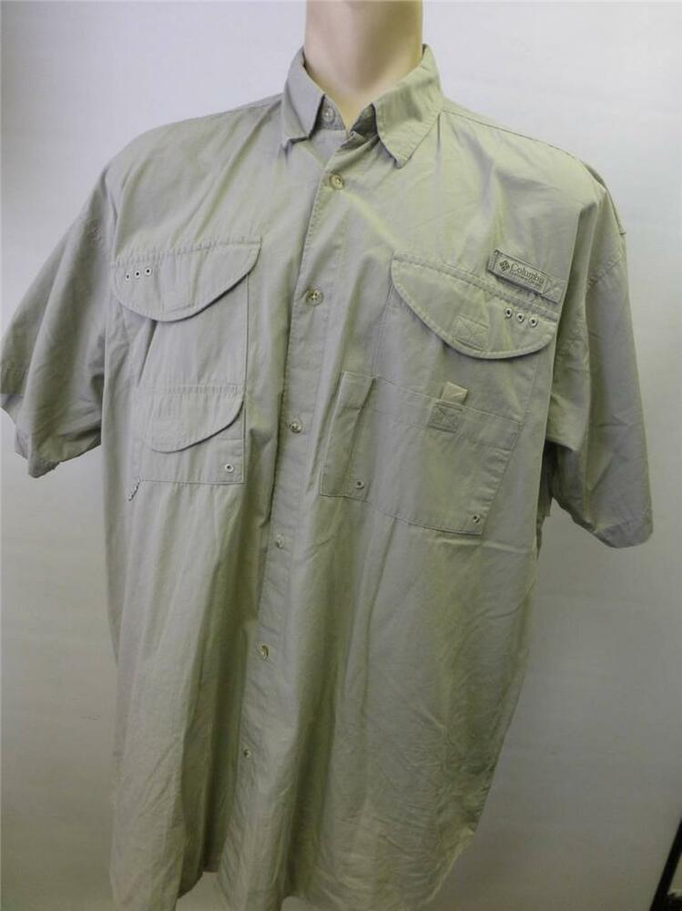Mens columbia pfg performance fishing gear short sleeve b Columbia womens fishing shirt
