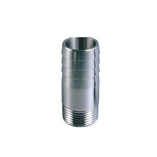 Stainless steel quot male bspp thread pipe fitting mm
