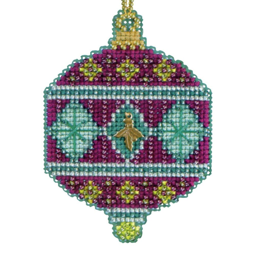 berry beaded cross stitch kit mill hill 2014