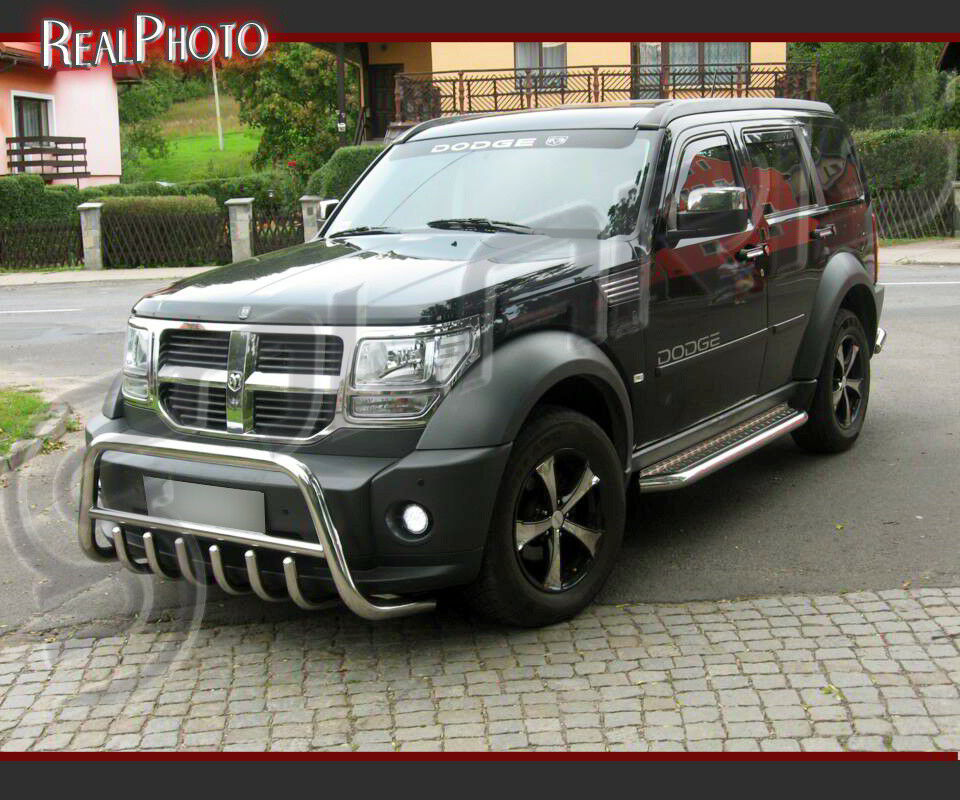 Dodge nitro 2006 set of bull bar side steps running boards dodge nitro 2006 set of bull bar side steps running boards gratis ebay sciox Image collections