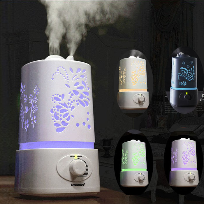 Usa stock 1 5l led ultrasonic aroma humidifier air diffuser purifier atomizer ebay - Humidifier l air naturellement ...