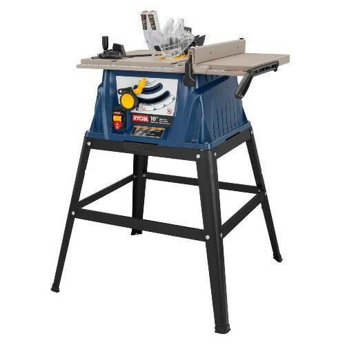 Ryobi 10 in portable table saw w stand zrrts10 ebay for 10 portable table saw