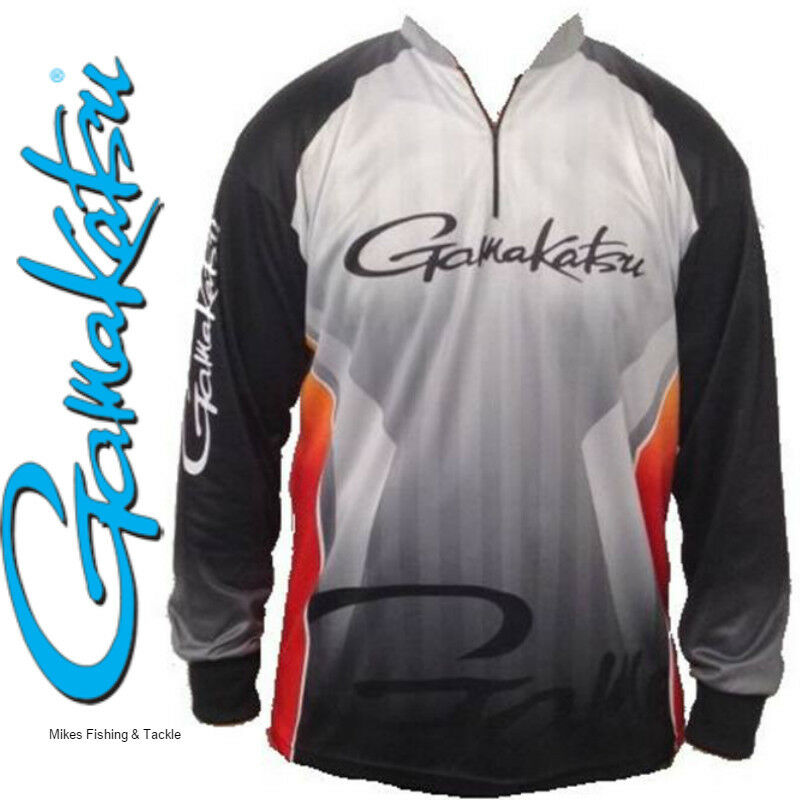 Gamakatsu tournament fishing shirt brand new with tags ebay for Tournament fishing shirts