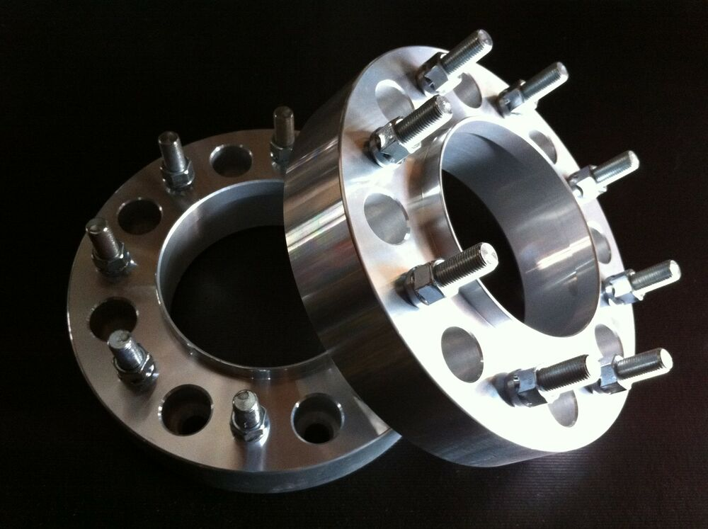 "Dually Wheel Spacers >> 2 Ford F350 Dually Hub Centric Wheel Spacers 1.5"" 8x200 to 8x200 Billet aluminum 