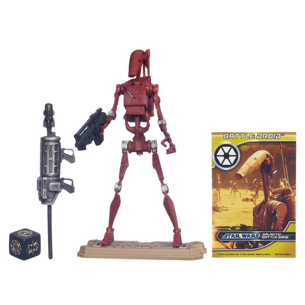 Star Wars Droids Toys : Star wars movie heroes battle droid action figure