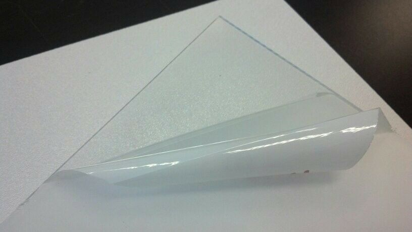Petg clear plastic sheet you pick the size vacuum for Clear plastic sheets for crafts