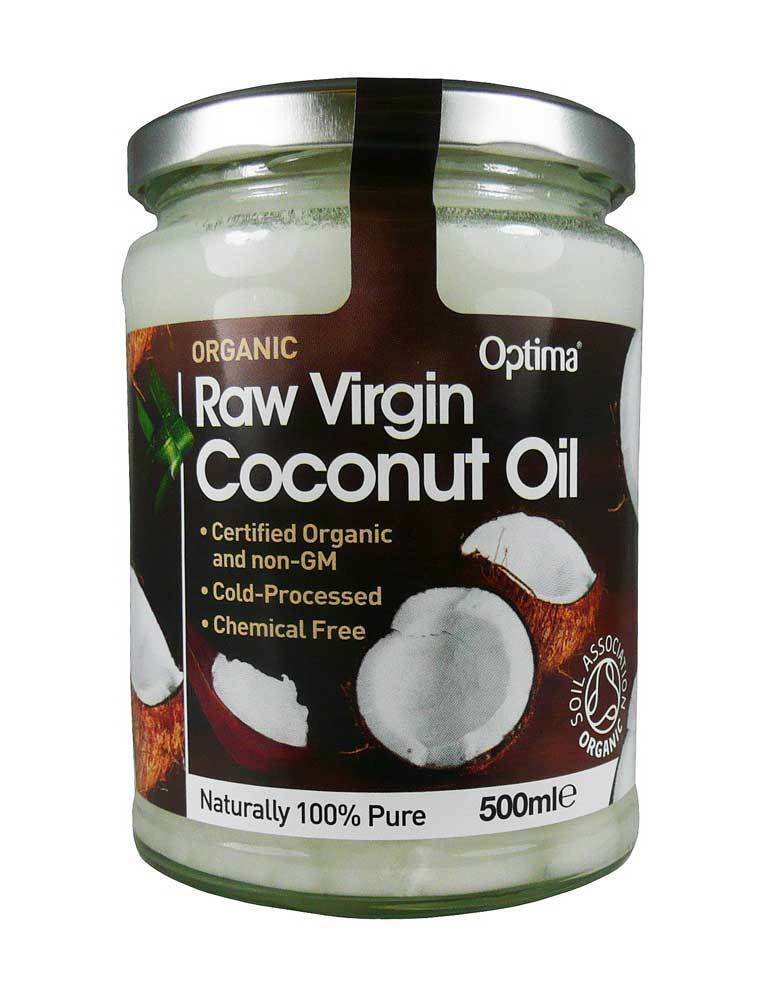 Optima Organic Raw Virgin Coconut Oil 500ml *100% Pure*