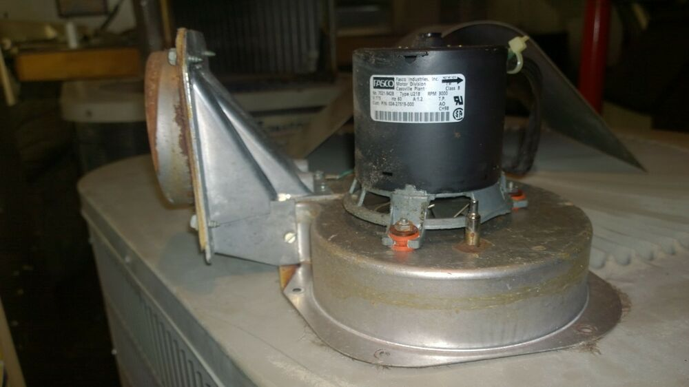 Luxaire furnace pcuhbld16n080b induced draft motor for Luxaire furnace draft inducer motor