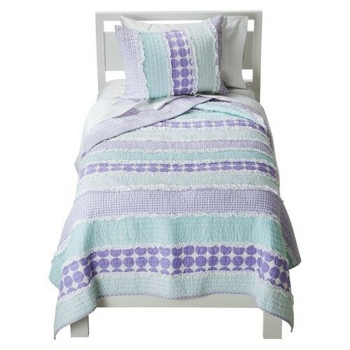 Sheringham Road Maddie Quilt Set Purple Turquoise Ebay