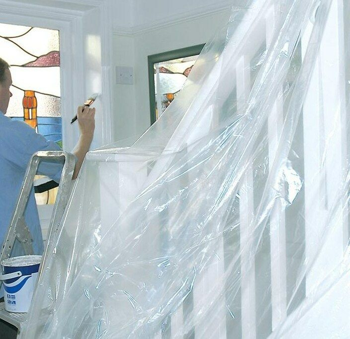 Large Polythene Dust Sheets Sheet Cover Painting