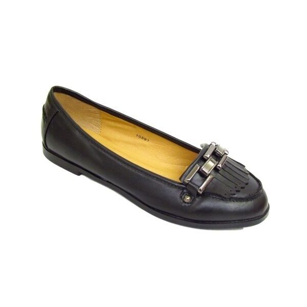 Easy Spirit Kaleo loafers feature a slip on style, an elastic detail for a secure fit, a texture fabric upper, fabric lining, a cushioned foot bed, and a flexible man made outsole with a 1 1/2 inch wedge heel.