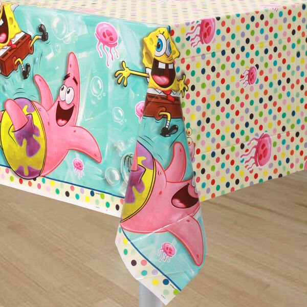 SpongeBob SquarePants ~ (1) TABLE COVER ~ Birthday Party ...