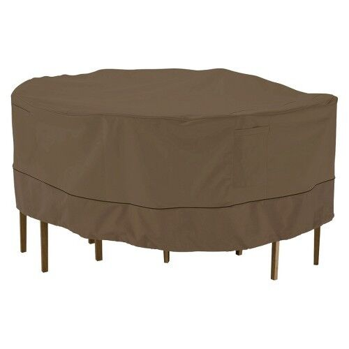 Patio Bistro Table and Chair Furniture Set Cover Threshold
