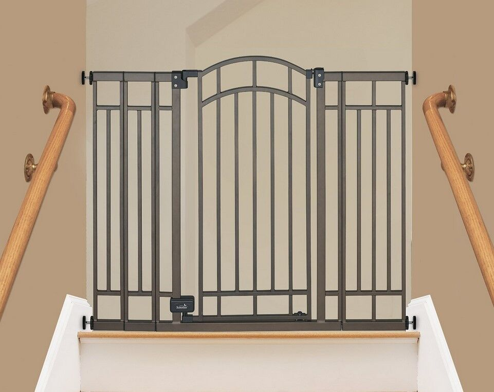Safety Gate Extra Tall Baby Or Pet Auto Close Safety Metal