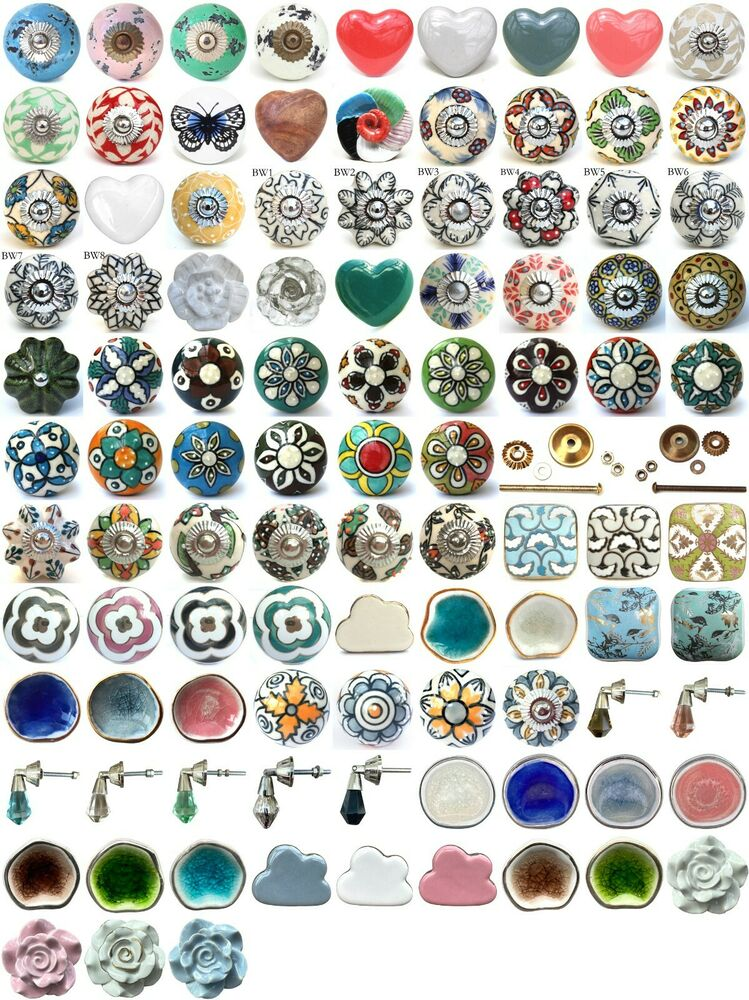 shabby chic cupboard door knobs handles drawer pulls vintage ceramic knobs knobs bedroom drawer handles bedroom furniture drawer handles